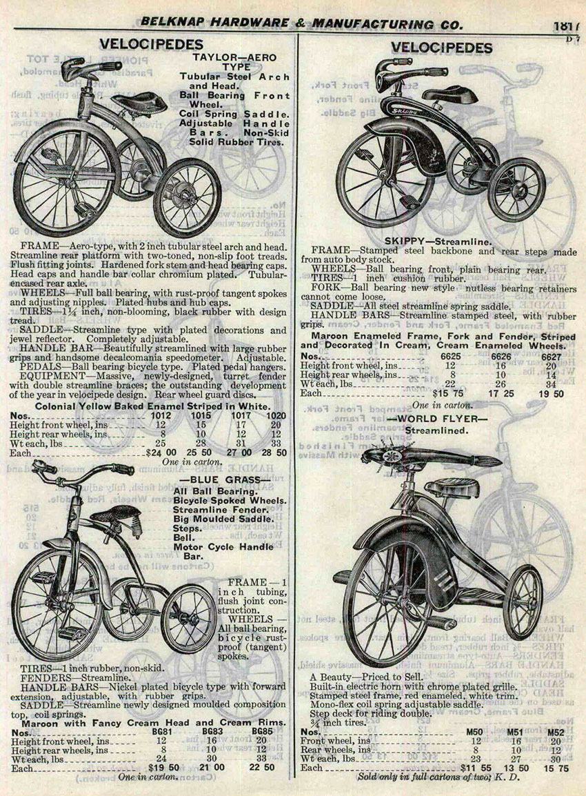 1937 WORLD FLYER streamlined velocipedes copy