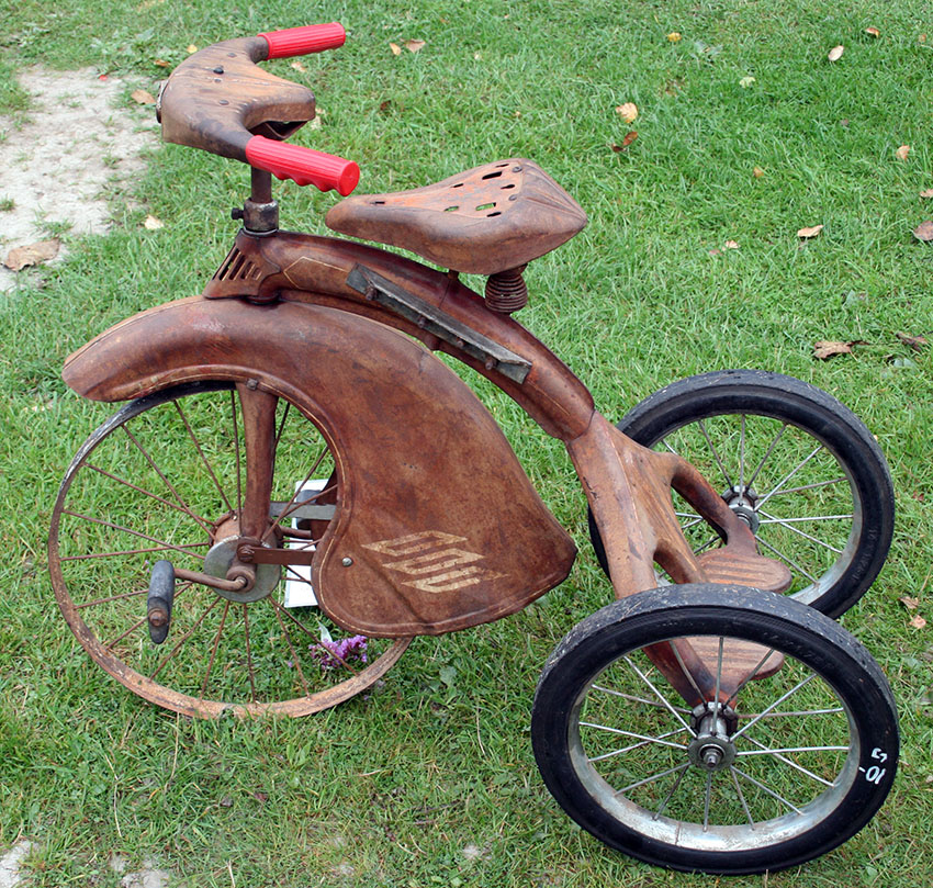1937 junior toy corp sky line tricycle 1