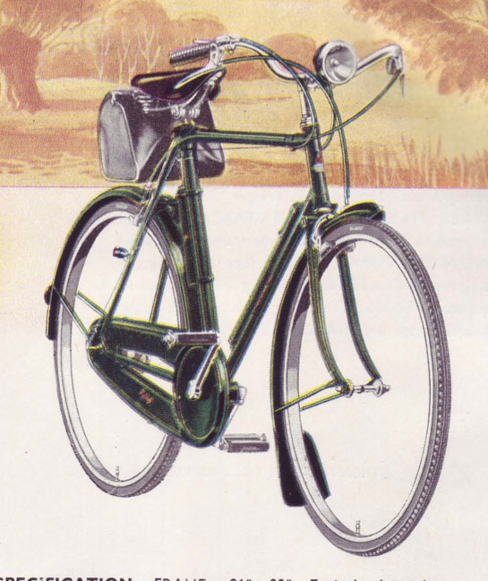 1947 Raleigh catalogue 0