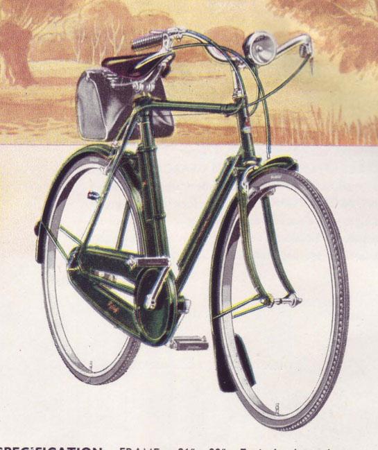 1947 Raleigh catalogue 0