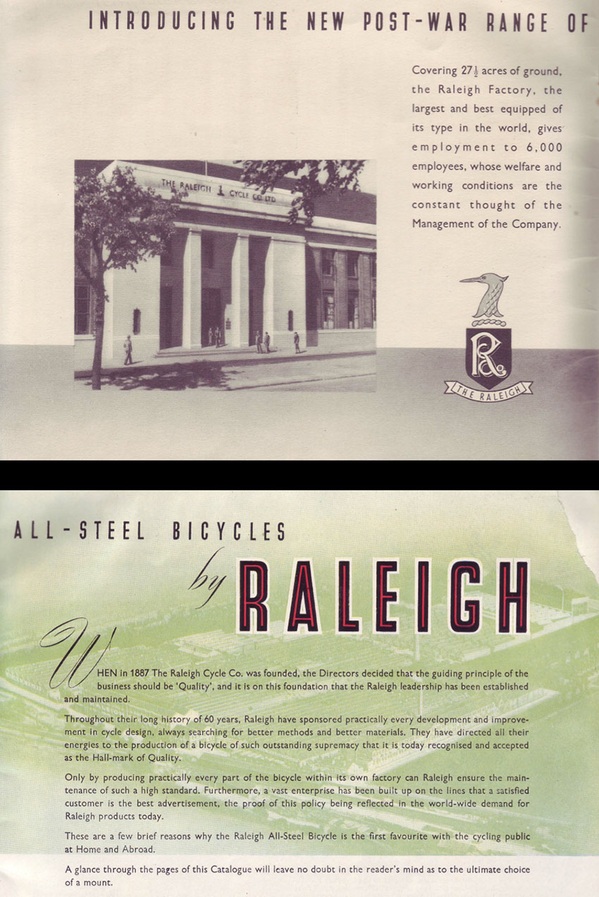 1947 Raleigh catalogue 2
