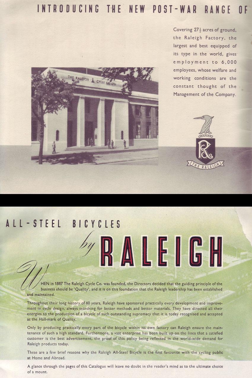 1947 Raleigh catalogue 2