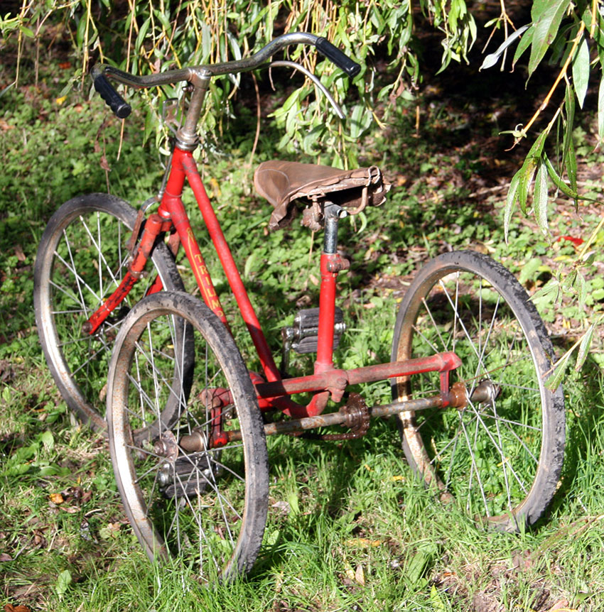 1949 TRIUMPH TRICYCLE 40