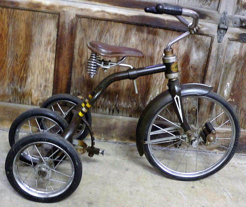 1949 Velo-Bike Convertible Tricycle