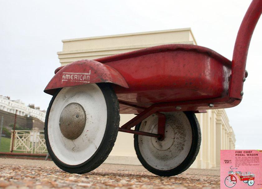 1952 Hettrick American Pedal Wagon 70