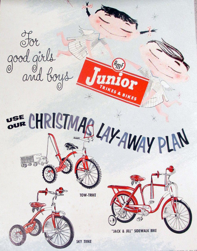 1954 junior tricycle