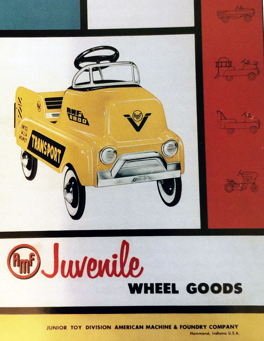 1957 AMF JUNIOR CATALOGUE COVER