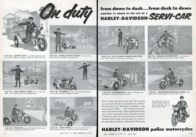 POLICE HARLEY DAVIDSON 5