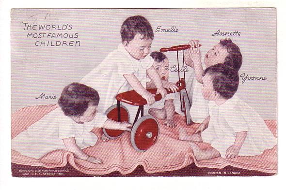 dionne quints tricycles 2