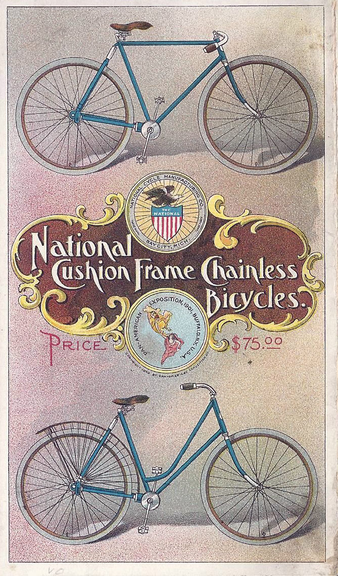 national cushion frame chainless 38