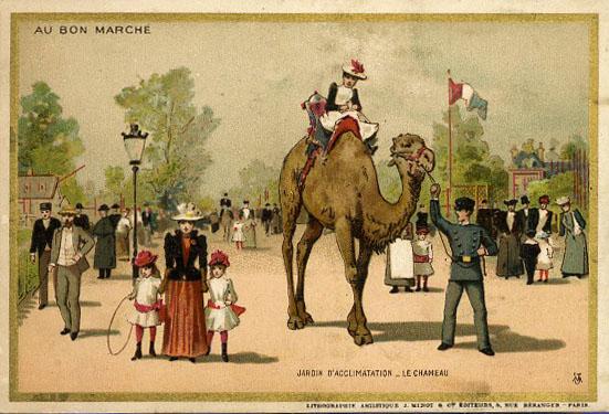 1897 Velo Dame au Bon Marche, Paris 2