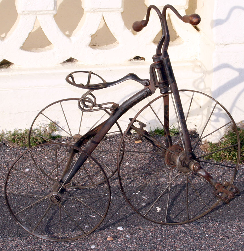 1899 iron velocipede tricycle 60