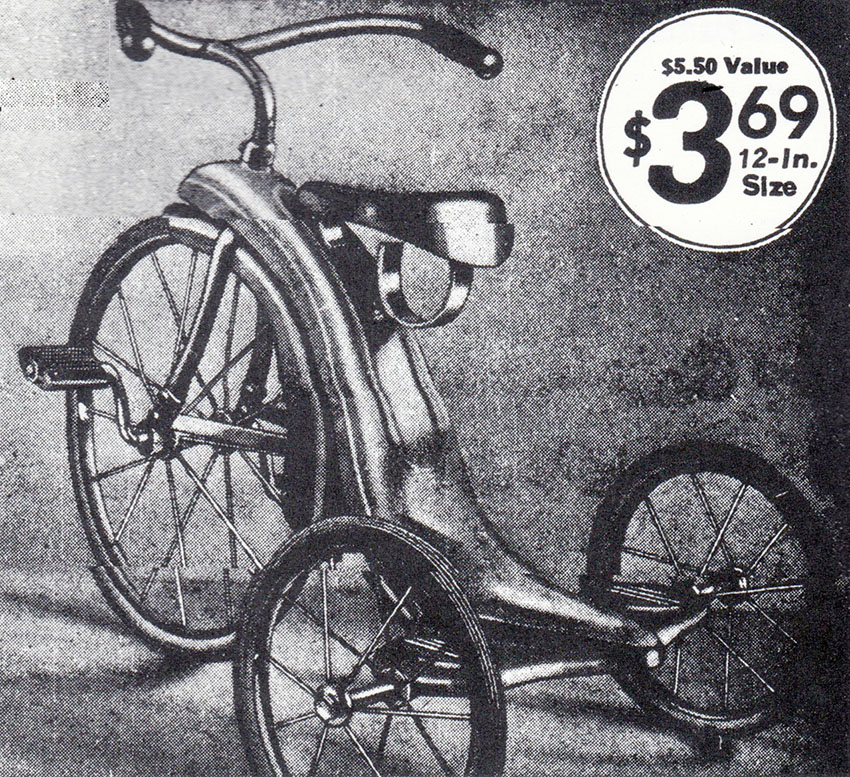 1937 Hedstrom Minuteman Tricycle 11