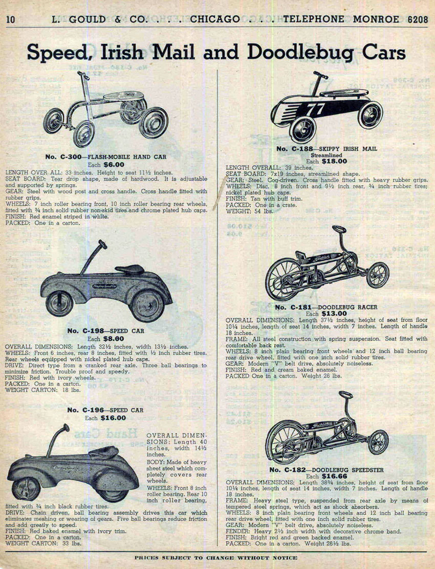 1938 playboy speed car