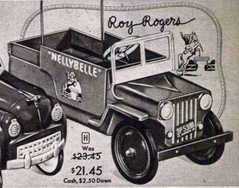 1954 Hamilton ROY ROGERS Jeep 001