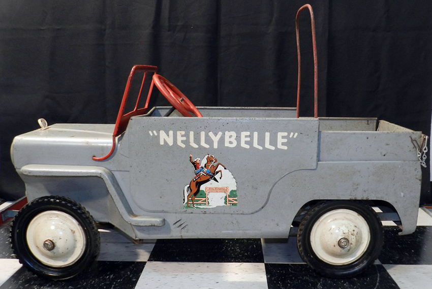 1954 Hamilton Roy Rogers Nellybelle Jeep The Online
