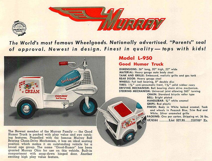 1956 Murray Good Humor Ice Cream Truck 01
