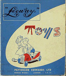 leeway toys catalogue cover