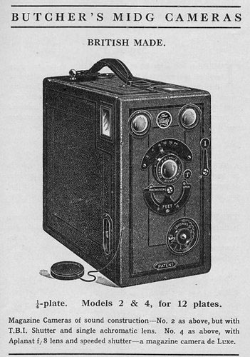 midg no 0 butcher & son cameras