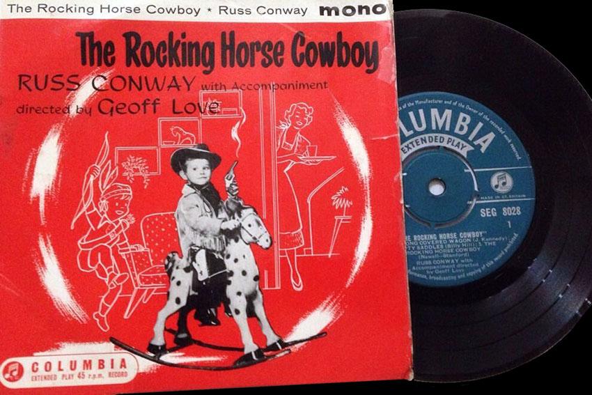 rocking horse cowboy russ conway