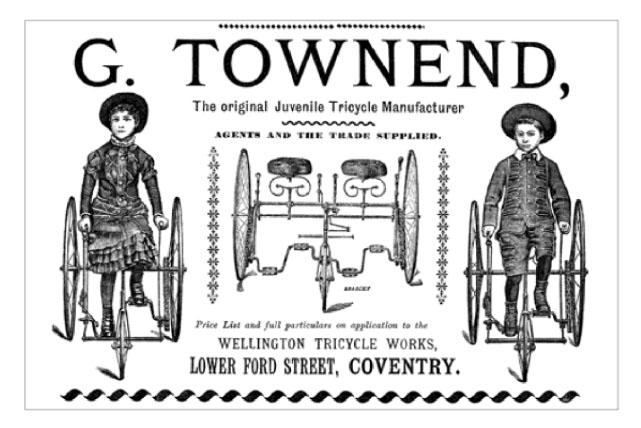 townend ORIGINAL JUVENILE TRIKE MAKER