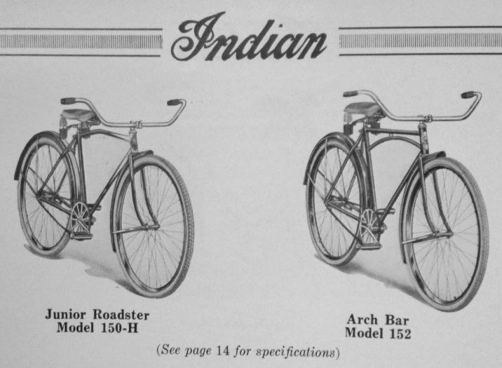 1924 Indian Junior Model 150 Bicycle 01