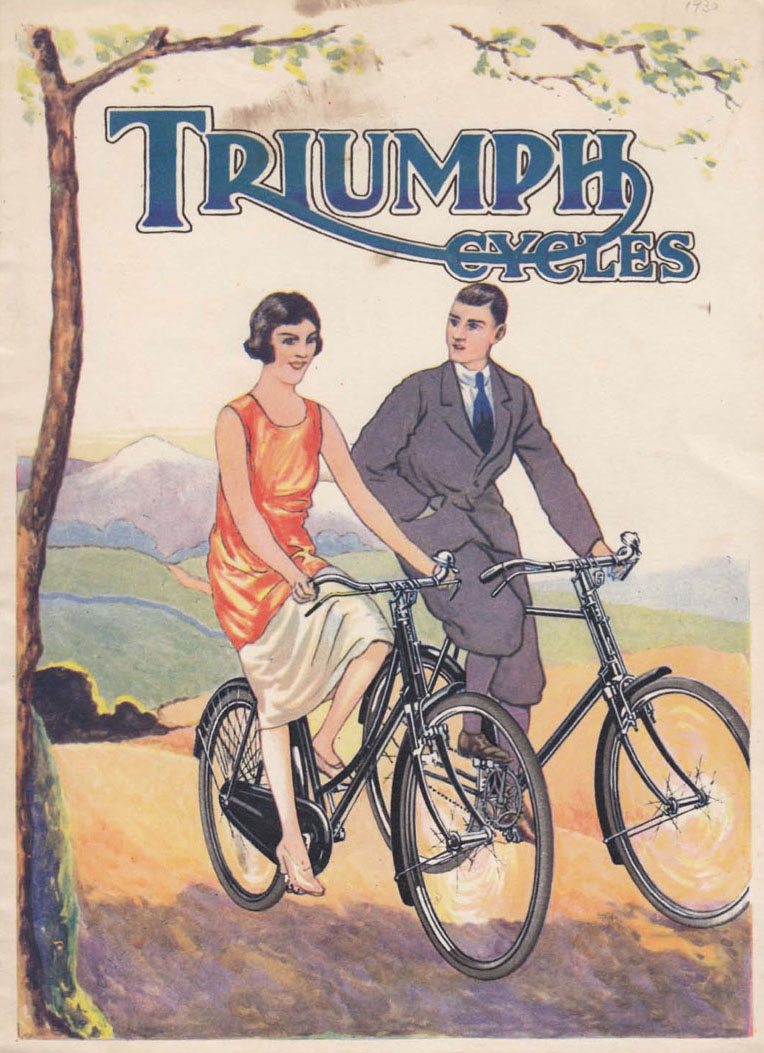1928 Popular Triumph BALL END FORK CROWN 01