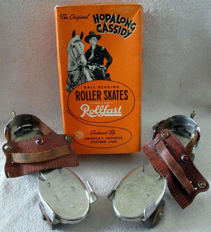 1954 Rollfast Hopalong Cassidy Roller Skates 02