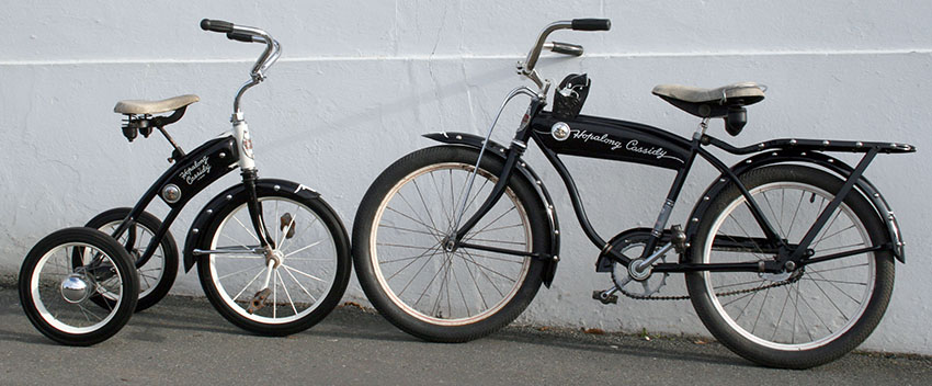Hopalong Cassidy Bicycle Tricycle 1