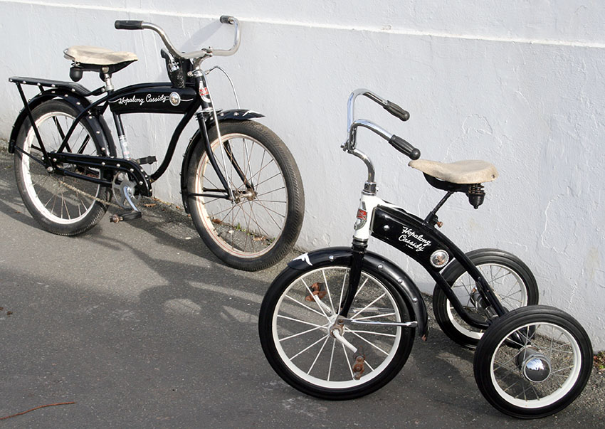 Hopalong Cassidy Bicycle Tricycle 2
