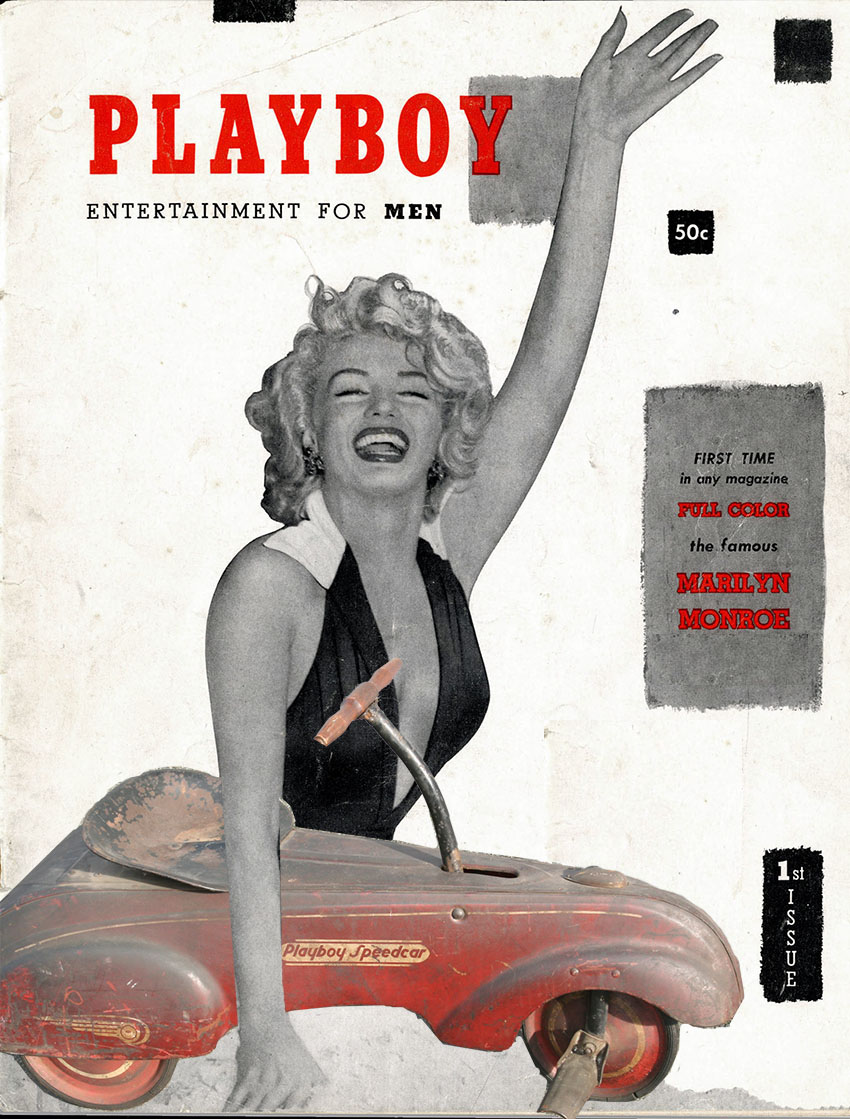 Playboy Speedcar Marilyn 1st issue