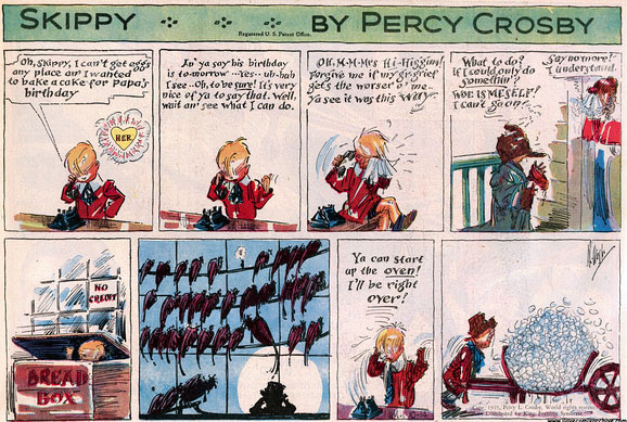 skippy cartoon