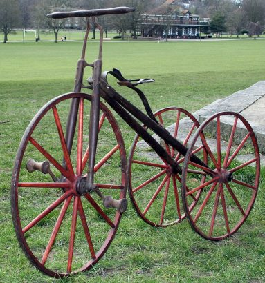 1875 Western Toy Co Tricycle 05