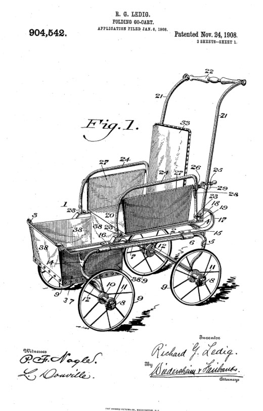 RICHARD G LEDIG baby buggy