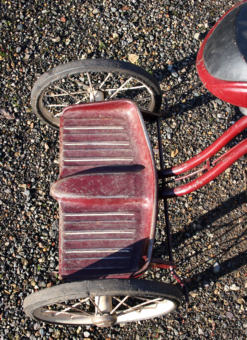 1938 ELGIN RACER TRICYCLE 10
