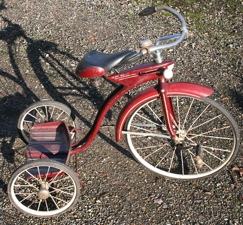 1938 ELGIN RACER TRICYCLE 8