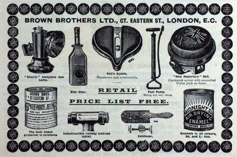brown brothers kells saddle 1899
