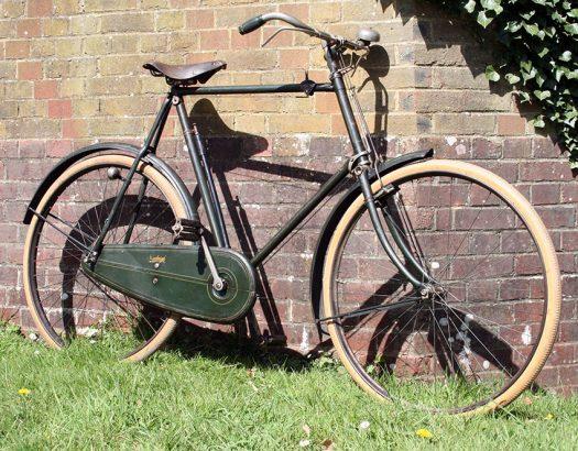 1912 Raleigh Model 4 Green 05