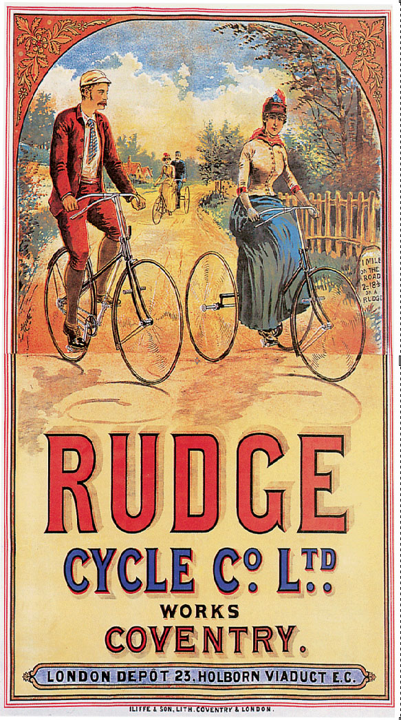1890 Rudge Bicyclette Diamante 01