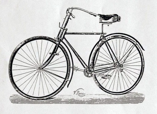 1890 Rudge Bicyclette Diamante No 2 3 copy