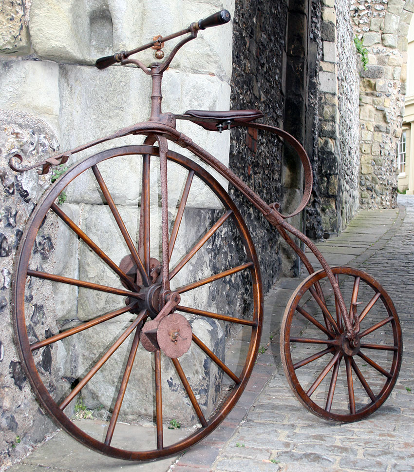 1870 Transitional Velocipede
