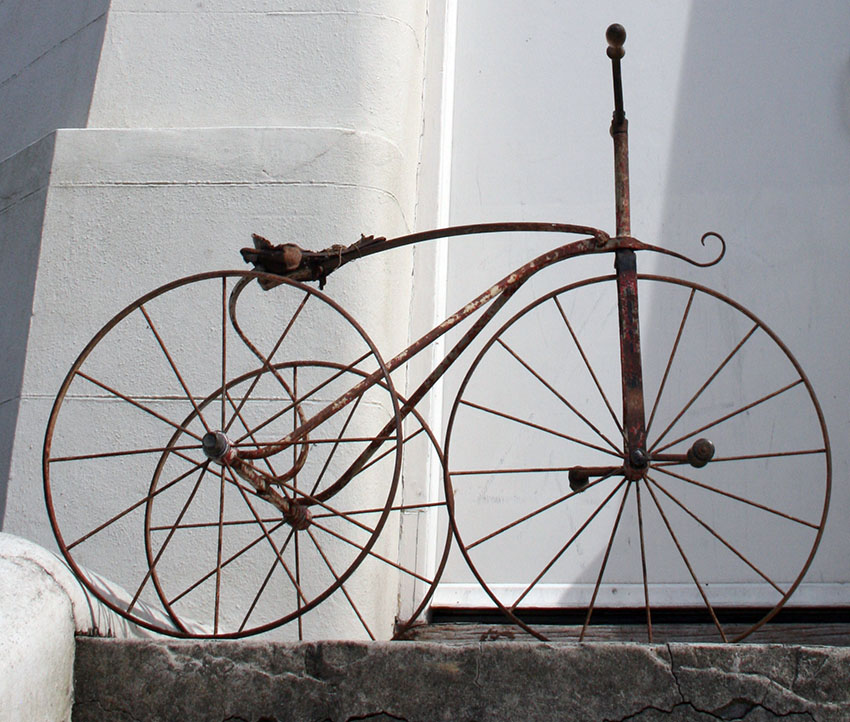 1870s Velocipede Tricycle metal 25