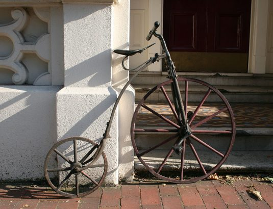 1870s Wood Velocipede 05