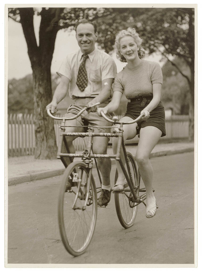 1920s Side-by-Side 'Sociable' Tandem – The Online Bicycle Museum