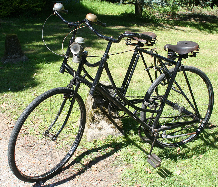 1910s Side-by-Side 'Sociable' Tandem – The Online Bicycle Museum