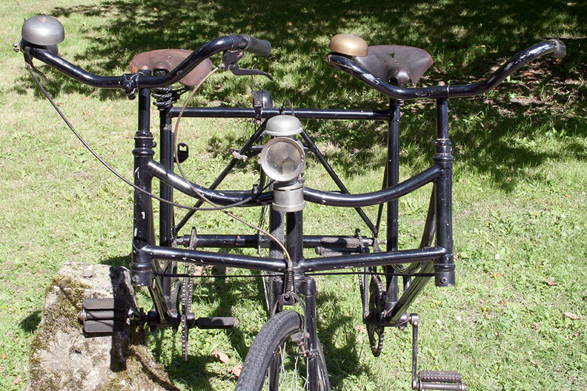 1910's Side-by-Side Sociable Tandem 09