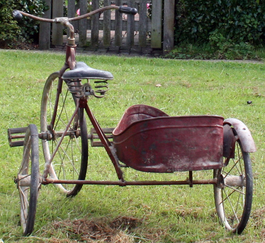 1927 Badger Velocipede with Sidecar 42
