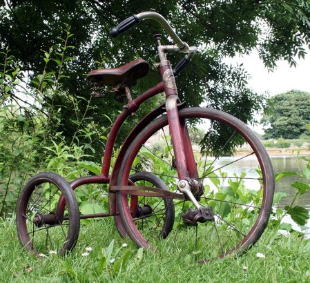 1929 Columbia Boycycle Tricycle 05
