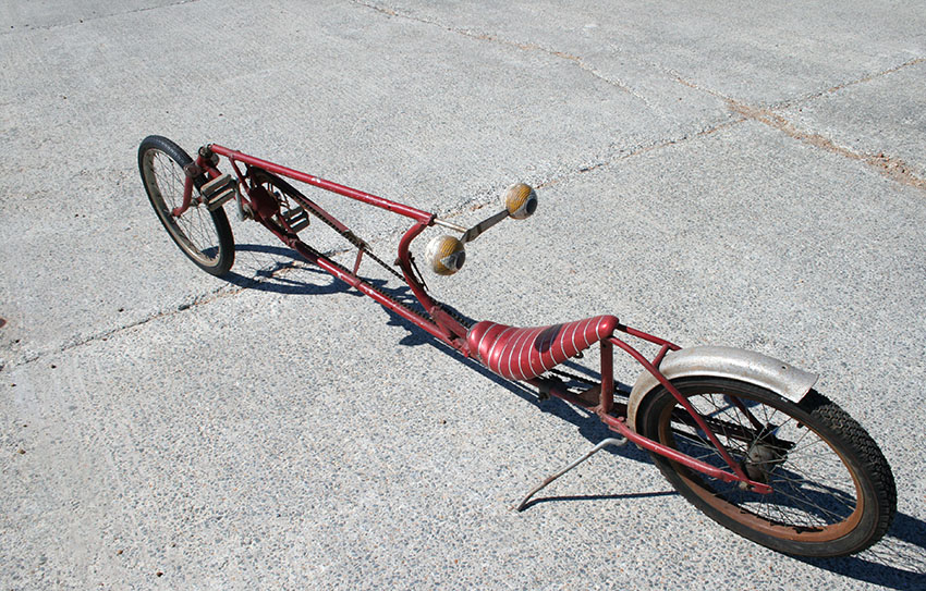 The Online Bicycle Museum » 1970s Lowrider Recumbent