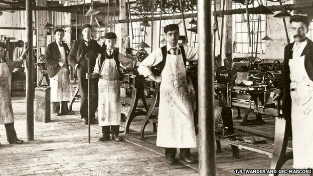 marconi factory